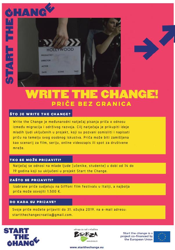 breza write the change